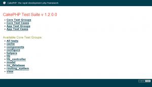 test suite simpletest install