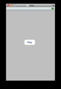 View に Play ボタンを配置