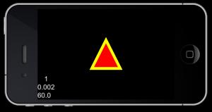 三角形を描画